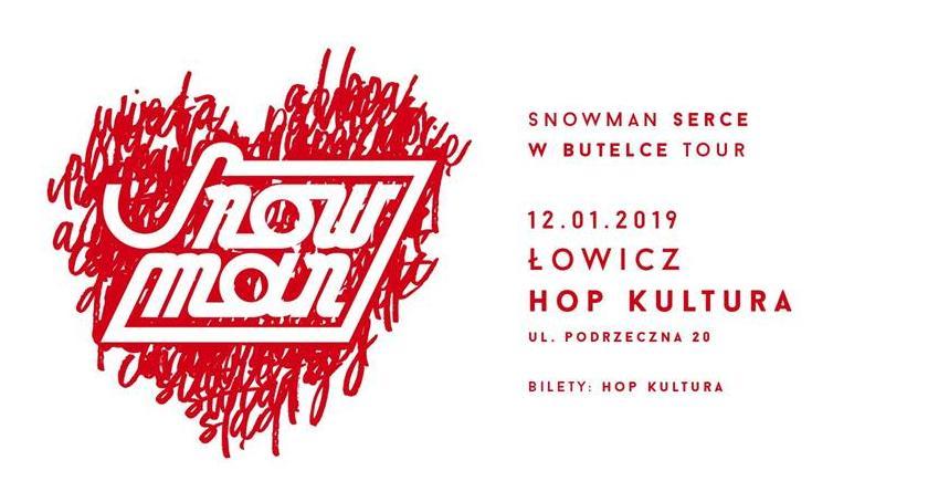Koncerty, weekend Snowman wystąpi HopKulturze - zdjęcie, fotografia
