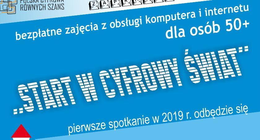 Warsztaty, Łowicz bezpłatne warsztaty komputerowe osób wieku - zdjęcie, fotografia