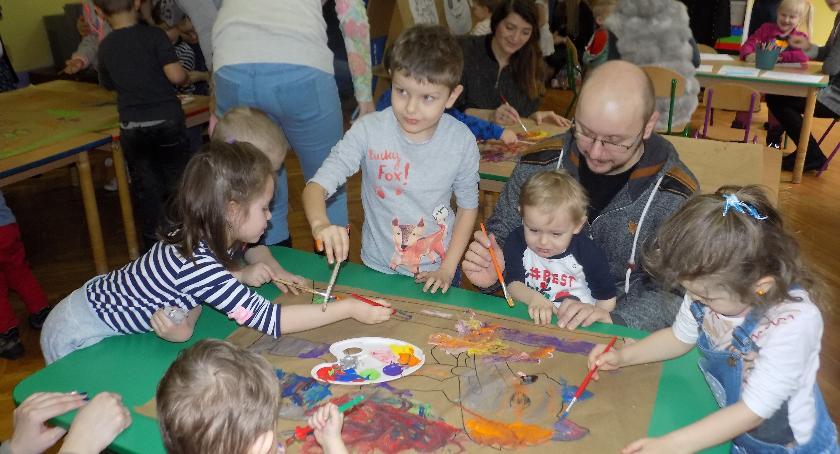 Edukacja, Dzień otwarty Przedszkolu Integracyjnym Świerkami - zdjęcie, fotografia