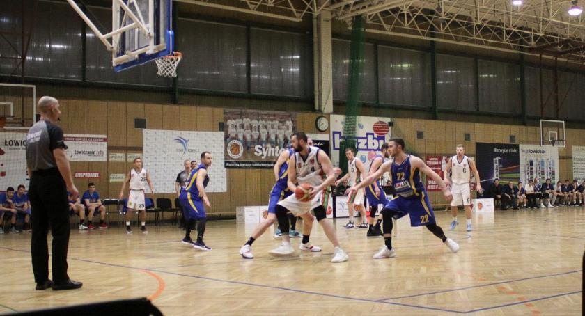 Koszykówka, Wygrana Księżaka Synteksu Siedlce - zdjęcie, fotografia