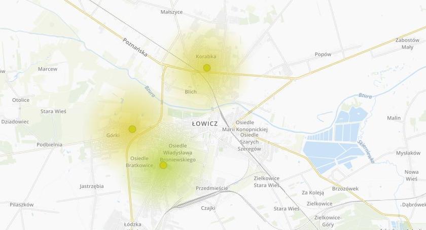 Urząd Miejski, Sprawdź jakość powietrza Łowiczu - zdjęcie, fotografia
