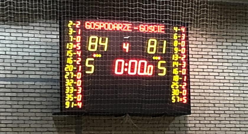 Koszykówka, Kolejna porażka Księżaka Krakowie - zdjęcie, fotografia