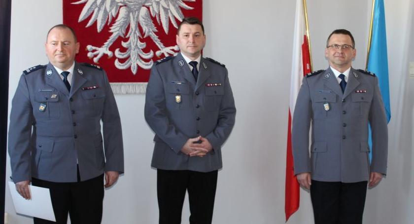 Komunikaty policji , Kolejne zmiany kadrowe Łowiczu - zdjęcie, fotografia