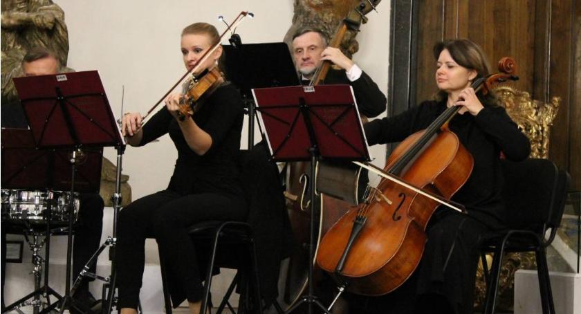 Koncerty, Koncert charytatywny Łowickiej Orkiestry Kameralnej - zdjęcie, fotografia
