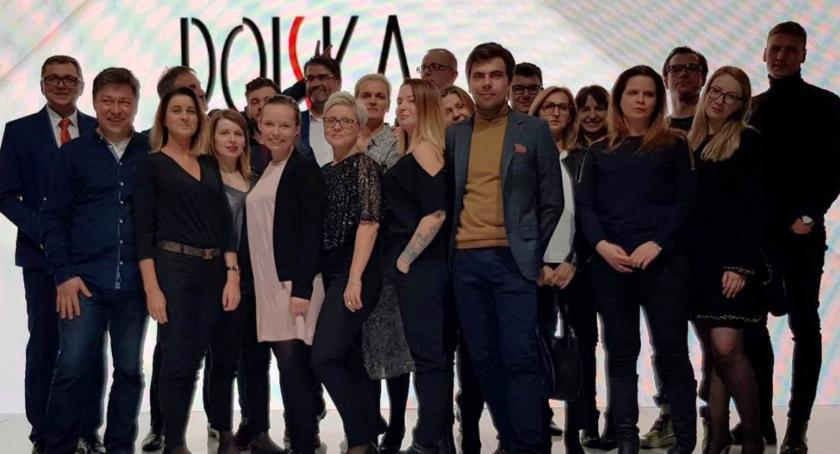 Gospodarka, Łowickie stoisko wyróżnione Targach Poznań Fashion - zdjęcie, fotografia