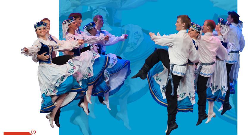 Koncerty, Zespół ludowy Białorusi wystąpi Łowiczu - zdjęcie, fotografia