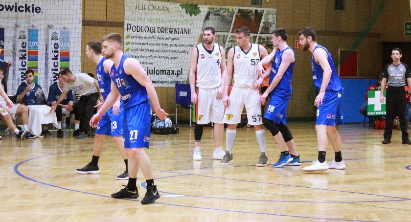 Koszykówka, Kolejna porażka Księżaka - zdjęcie, fotografia