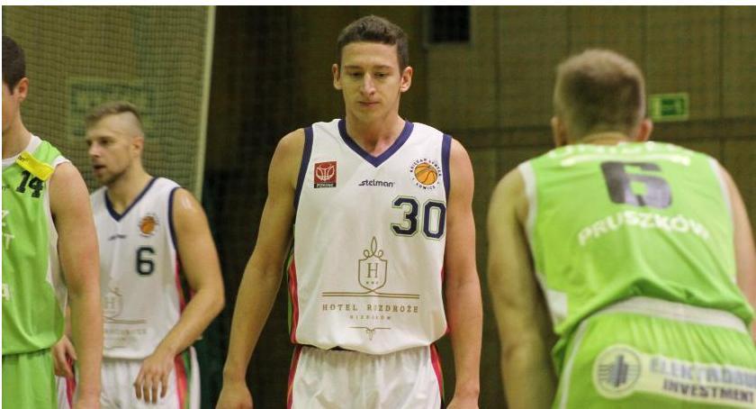 Koszykówka, Księżak Syntex Łowicz przegrywa pierwszy - zdjęcie, fotografia