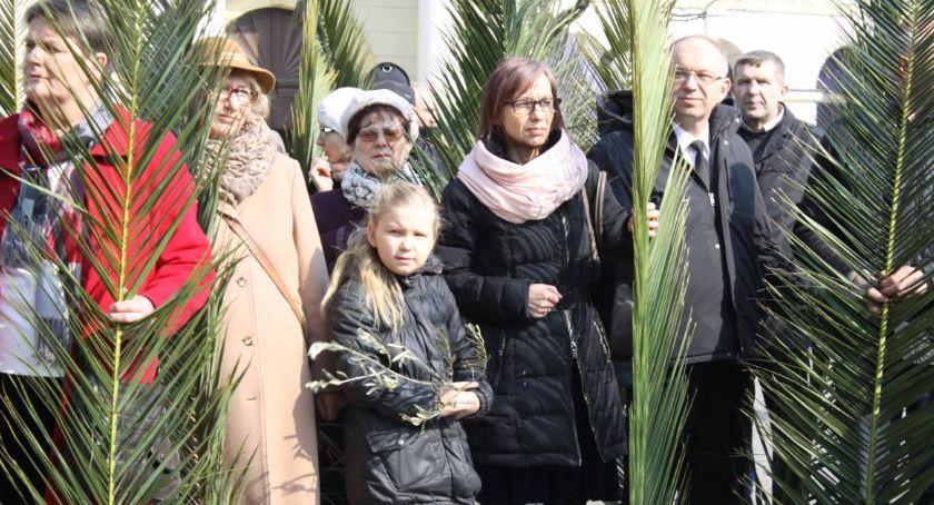 Kościół, Program uroczystości Niedzieli Palmowej Łowiczu - zdjęcie, fotografia