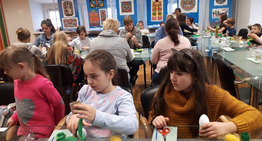 Warsztaty, Rodzinne Warsztaty Wielkanocne - zdjęcie, fotografia