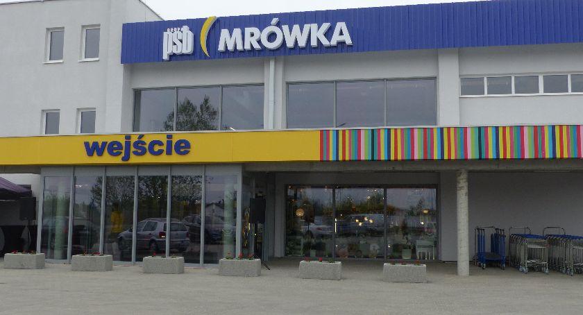 Gospodarka, Otwarcie marketu Mrówka Łowiczu (ZDJĘCIA) - zdjęcie, fotografia