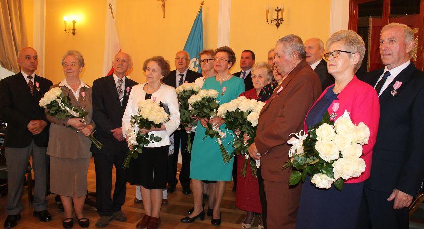 Urząd Miejski, Łowicz Razem przeżyli Dzisiaj świętowali Złote Gody! (ZDJĘCIA) - zdjęcie, fotografia