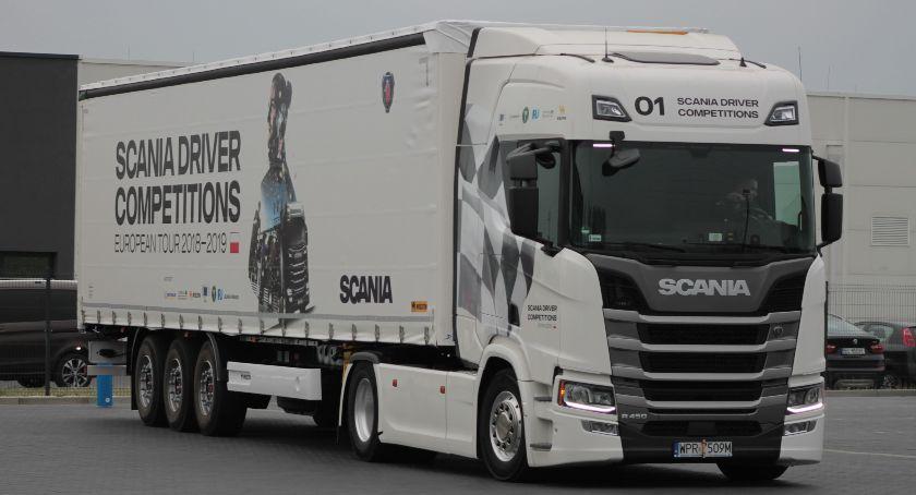 Konkursy, Finał regionalny Konkursu Kierowców Scania Łowiczu - zdjęcie, fotografia