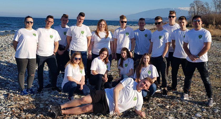 Edukacja, Greckie praktyki zawodowe uczniów RCKUiP Tadeusza Kościuszki Łowiczu - zdjęcie, fotografia