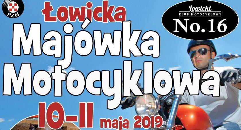 Spotkania, Program Łowickiej Majówki Motocyklowej - zdjęcie, fotografia