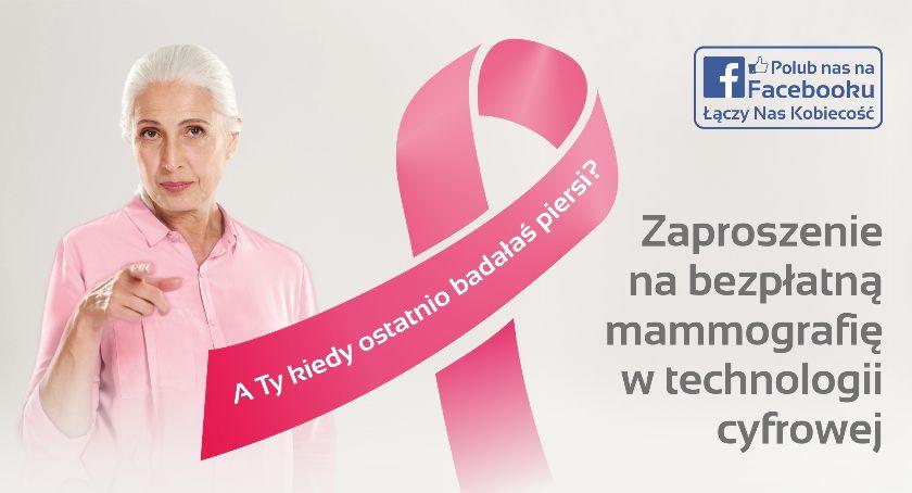 Porady zdrowotne, Akademos zaprasza darmowe badania mammograficzne kobiet wieku - zdjęcie, fotografia