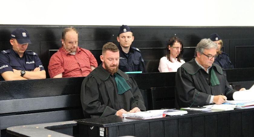 Z sali rozpraw, Proces zabójstwa Mirona Łowicza Żona kochanek przyznają (ZDJĘCIA) - zdjęcie, fotografia