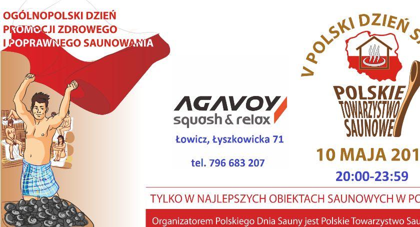 Art. sponsorowany, Zaproszenie Dzień Sauny Łowiczu - zdjęcie, fotografia
