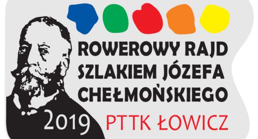 Rajdy, Zapisy rowerowy szlakiem Józefa Chełmońskiego - zdjęcie, fotografia
