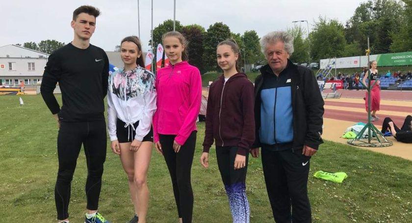 Lekkoatletyka, Weekendowe starty lekkoatletów Łowicza Domaniewic - zdjęcie, fotografia