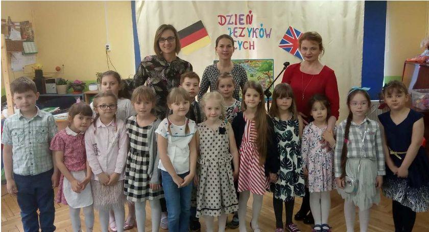 Edukacja, Dzień języków obcych Przedszkolu Łowiczu Tęczą - zdjęcie, fotografia
