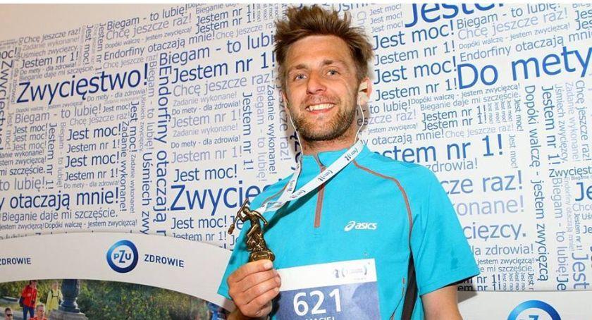 Wasze sprawy, Maciej Jędrachowicz Łowicza pobiegnie ultramaratonie Sparty Można wesprzeć finansowo - zdjęcie, fotografia