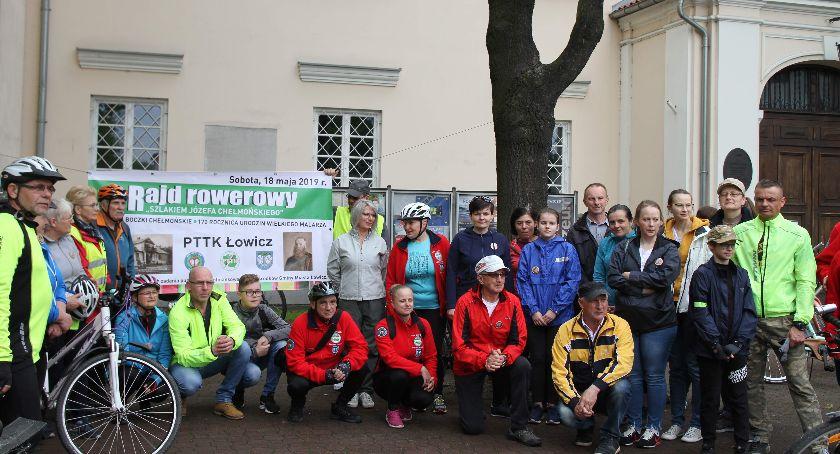 """Rajdy, rowerowy """"Szlakiem Józefa Chełmońskiego"""" - zdjęcie, fotografia"""