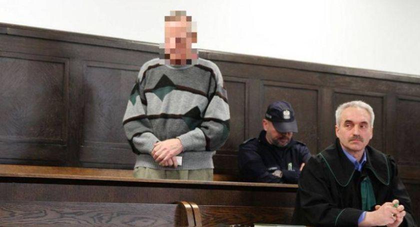 Z sali rozpraw, Zabójstwo targowisku Łowiczu podjął decyzję wniosku obrońcy oskarżonego - zdjęcie, fotografia