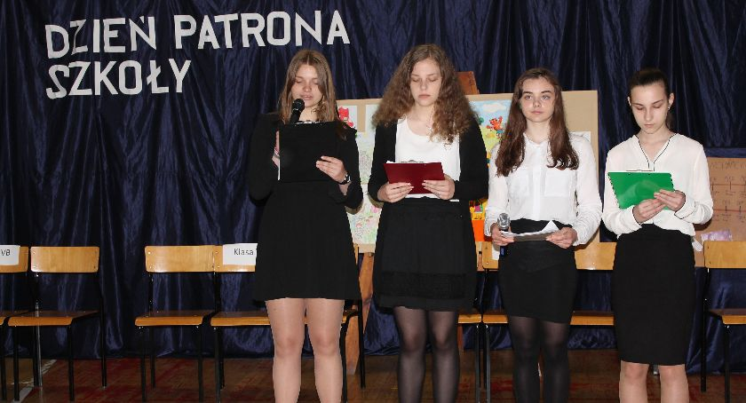 Edukacja, Święto patrona Łowiczu (ZDJĘCIA) - zdjęcie, fotografia