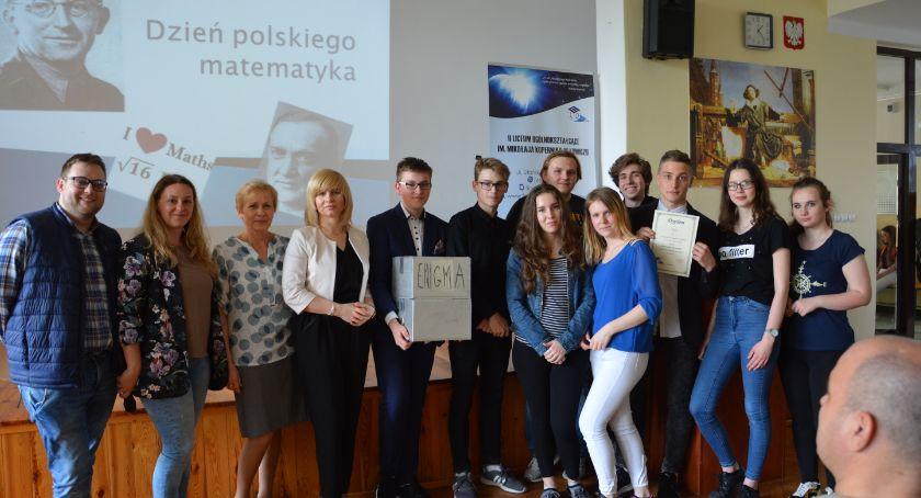 Edukacja, Dzień Polskiego Matematyka Łowiczu - zdjęcie, fotografia