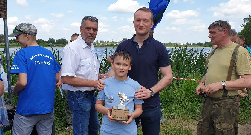 Konkursy, Wędkarski Dzień Dziecka Łowiczu - zdjęcie, fotografia