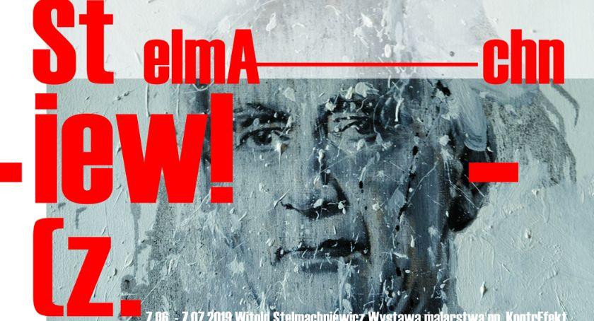Wystawy, piątek wernisaż wystawy malarstwa Witolda Stelmachniewicza - zdjęcie, fotografia