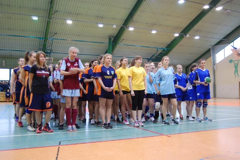 Piłka ręczna, Gimnazjum Gimnazjum powalczą rejonie - zdjęcie, fotografia