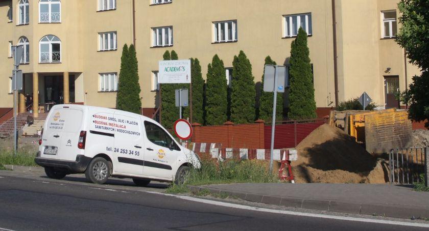 Inwestycje, Ulica Iłowska będzie zamknięta jeszcze przez kilka - zdjęcie, fotografia
