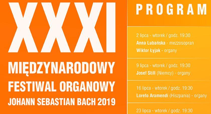 Koncerty, Międzynarodowy Festiwal Organowy Johann Sebastian Łowiczu (PROGRAM) - zdjęcie, fotografia