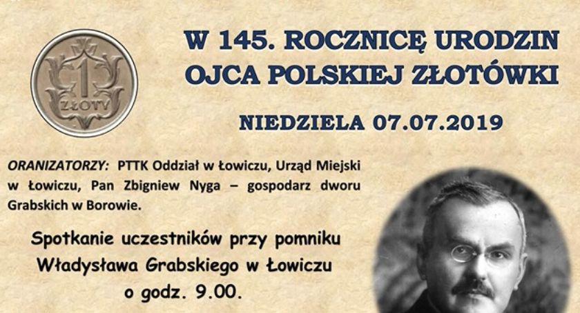Rajdy, Zapisy rowerowy szlakiem Władysława Grabskiego - zdjęcie, fotografia
