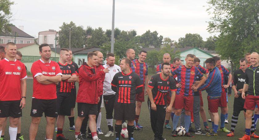 Piłka nożna, Turniej Kibiców Drużyn Zagranicznych - zdjęcie, fotografia