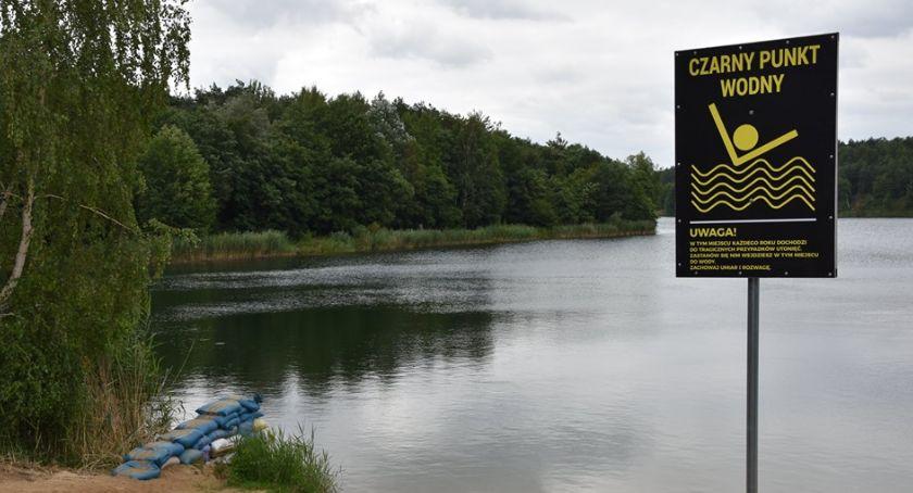 Wasze sprawy, Czarny punkt wodny kąpielisku Guźni - zdjęcie, fotografia
