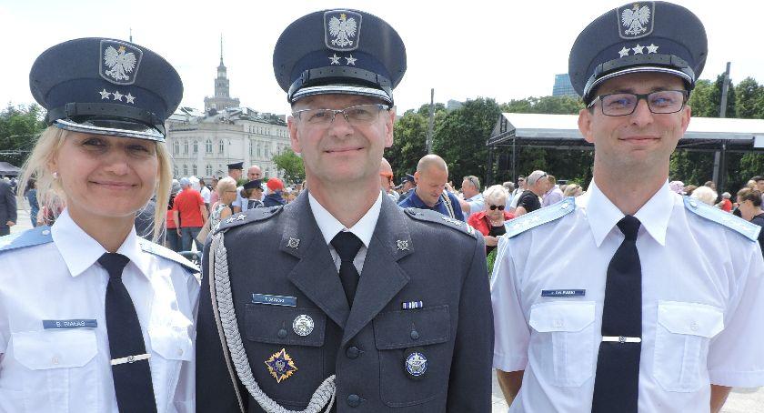 Zza krat, Uroczyste obchody Święta Służby Więziennej Łowickim akcentem - zdjęcie, fotografia