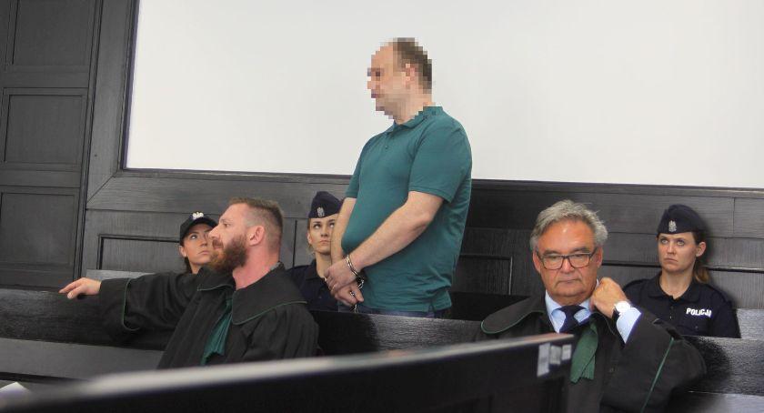 Z sali rozpraw, Zabójstwo Mirona Łowicza Współoskarżony zbrodnię Mariusz złożył wyjaśnienia - zdjęcie, fotografia