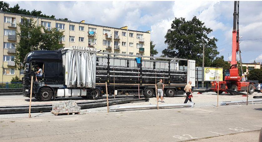 Inwestycje, Ruszył kolejny miejskim targowisku - zdjęcie, fotografia