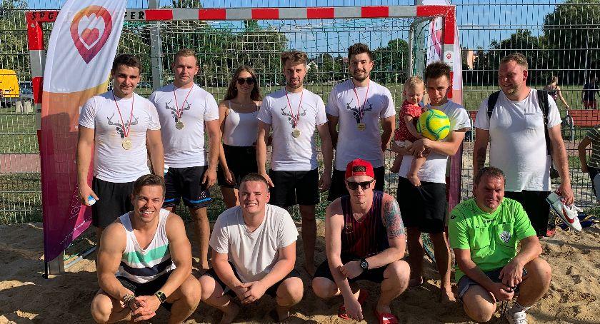 Piłka nożna, Turniej Beach Soccer Tournament Łowiczu - zdjęcie, fotografia