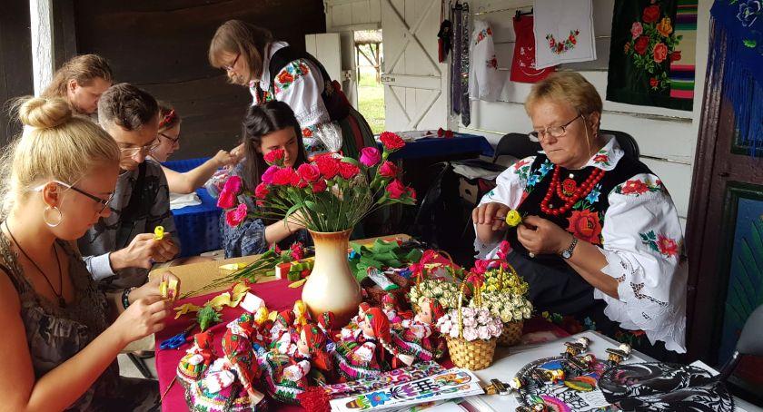 Warsztaty, Warsztaty Ludowe skansenie Muzeum Łowiczu - zdjęcie, fotografia