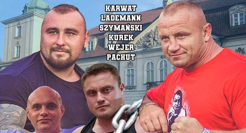 Inne, niedzielę Nieborowie Puchar Polski Strongman - zdjęcie, fotografia