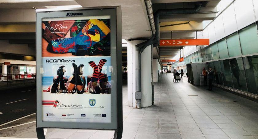 Gospodarka, edycja kampanii reklamowej łowickich włókienniczych - zdjęcie, fotografia
