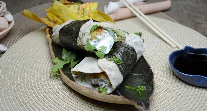 Wasze sprawy, Idealny pomysł ciekawe urozmaicenie monotonnego jadłospisu Tradycyjne japońskie sushi nowoczesnej formie - zdjęcie, fotografia