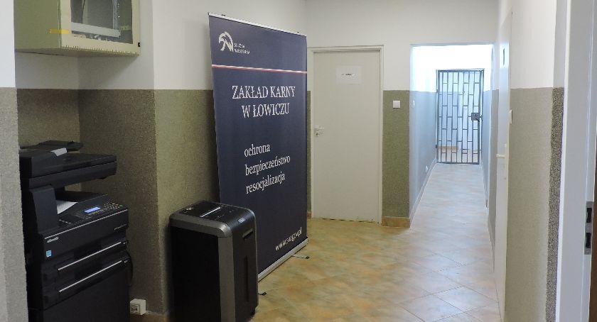 Zza krat, Modernizacji Zakładu Karnego Łowiczu ciąg dalszy - zdjęcie, fotografia