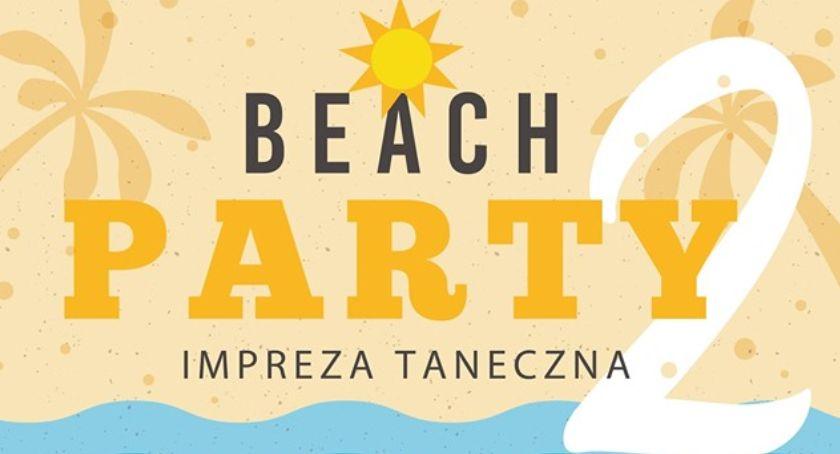 Koncerty, Zaproszenie imprezę taneczną plaży Łowiczu - zdjęcie, fotografia