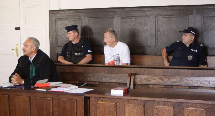 Z sali rozpraw, Zabójstwo targowisku Łowiczu Józef usłyszał wyrok - zdjęcie, fotografia