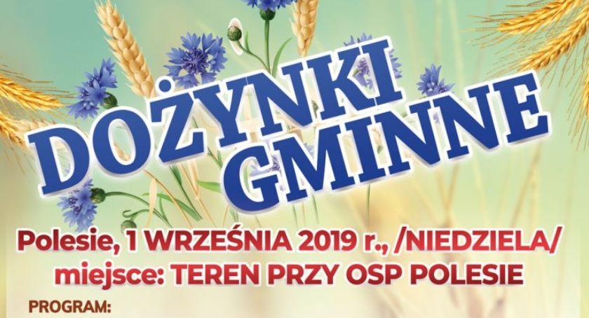 Spotkania, Zaproszenie dożynki gminne Parmie Polesiu (PROGRAM) - zdjęcie, fotografia